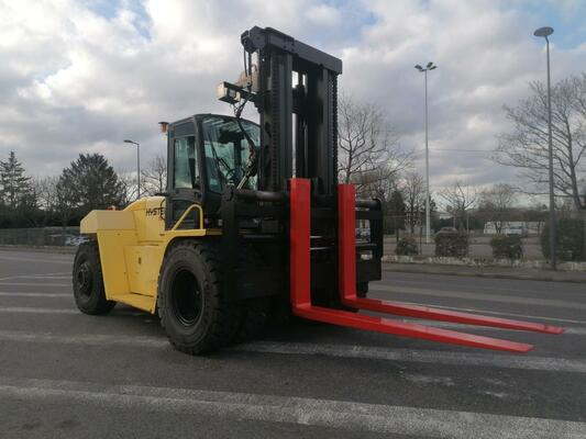 Four wheel front forklift Hyster H18.00XM-1.2 - 1